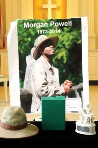 Morgan passed away suddenly in September 2014.