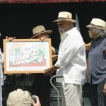 The Viva Loisaida Award was presented to Sammy Tanco, one of the founders of the Loisaida Festival and a pioneer and icon of Afro-Puerto Rican music.