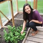 Farm Manager Katrina Ceguera.