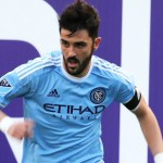 David Villa is a striker.