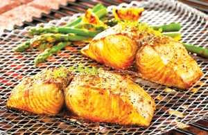 Enjoy healthy fats such as grilled fish.
