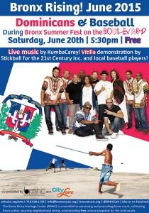 Celebre la herencia dominicana en el Bronx.