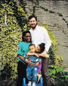 The de Blasio-McCray family.