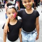Nalahny Venson, 7 years old and Allyssa Vasquez, 4 years old