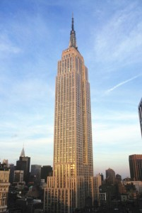 """The Empire State Building has nearly 2,000 steps,"" notes Thompson."