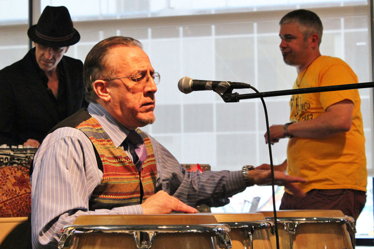 """The Bronx is the musical incubator for the city,"" said artist Bobby Sanabria."