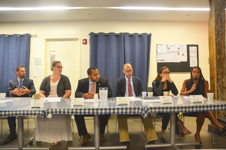 The panelists convened for the second annual forum.