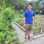 Dylan Hammond is CPF's Garden Manager.