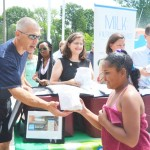 Yankees Manager Girardi shared summer meals uptown.