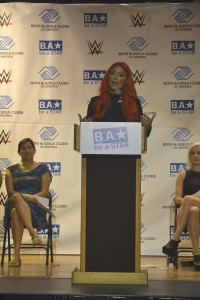 """It is important to treat each other with respect,"" said WWE Diva Eva Marie."