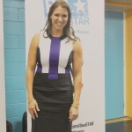 """""""We have a responsibility to spread positive messages,"""" said WWE Chief Brand Officer Stephanie McMahon."""