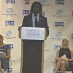 """[Do not] be a bystander,"" said wrestler Kofi Kingston."