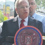 """""""It's a great time to be in Kingsbridge,"""" said Assemblymember Jeffrey Dinowitz."""