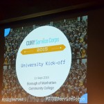 The kick-off was held at BMCC.