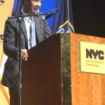 """""""We value those who found opportunity driving taxis,"""" said Councilmember Ydanis Rodríguez."""