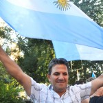 """""""This is a beautiful country that prospers because of immigrants,"""" said Horacio Guiraldo."""