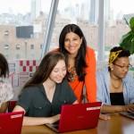"""Coding is like reading and writing,"" says founder Reshma Saujani."