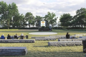 The amphitheater at Soundview.