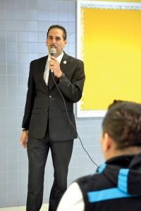 Councilmember Fernando Cabrera was the keynote speaker.