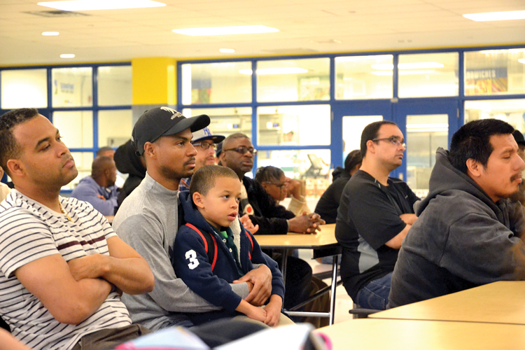 The initiative aims to further engage fathers and male role models.
