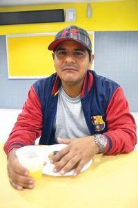 """""""Tenemos que apoyar a nuestros hijos y darle todo lo que podamos"""", dijo Nelson Vaca."""