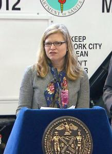 DSNY Commissioner Kathryn García.