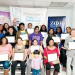 Graduates of the 2012 program celebrate with Sen. Gustavo Rivera.