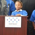 Fifth grader Rahmatou K. spoke up.