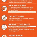 United We Dream, which bills itself the largest immigrant youth-led organization in the nation, has issued the following tips to keep in mind for residents who may find themselves or family members involved in a potential ICE raid. Source: unitedwedream.org