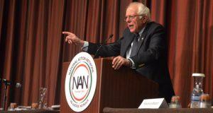 Sanders speaks at NAN