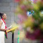 The First Lady addresses parishioners. Photo: Demetrius Freeman/Mayoral Photography Office.