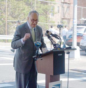 """Herman inspired generations,"" said U.S. Senator Chuck Schumer."