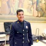 Bronx County Court Officer Moises Tovar was honored.