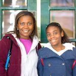 Mother and daughter team Heava (left) and Tiffany Challenger volunteer every weekend.