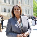 """""""We need Albany to act,"""" said Public Advocate Letitia James."""