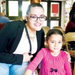 Melissa Carrero with her daughter Abriella.