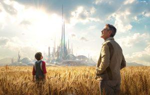 Enjoy a screening of Tomorrowland at Poe Park.