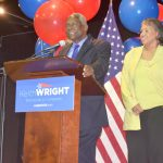 """This campaign ain't over,"" said Keith Wright."