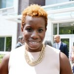 """""""We can keep people in the neighborhoods they want to live in,"""" said NYCHA Chair Shola Olatoye."""