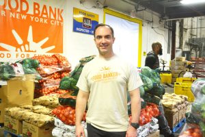 """""""The Food Bank serves 340,000 kids every year,"""" said board member Kevin Frinz."""