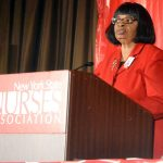 NYSNA First Vice President Marva Wade.