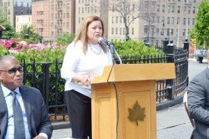 Bronx Parks Commissioner Iris Rodríguez-Rosa.