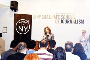 """The ethnic media is a lifeline,"" said MOME Commissioner Julie Menin."