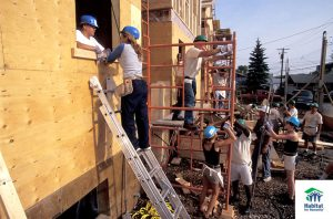 A co-op in the northeast Bronx in partnership with Habitat for Humanity is planned.