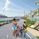 The open space plan aims to improve residents' health and well-being.