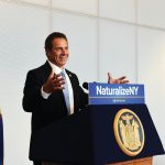 """Immigration is our strength,"" said Governor Andrew Cuomo."