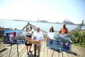 The East 132nd Street Pier will be developed.