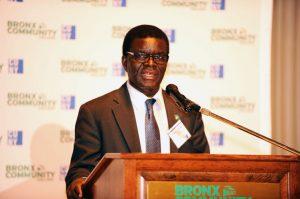 BCC President Dr. Thomas A. Isekenegbe.