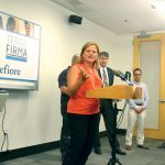 """We're definitely doing more for immigrants,"" said Speaker Melissa Mark-Viverito."