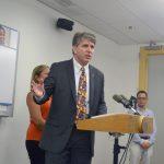 """Every child matters,"" said Dennis Walto of the Children's Health Fund."